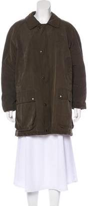 Burberry Short House Check-Lined Coat