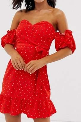 Glamorous Bardot Mini Dress