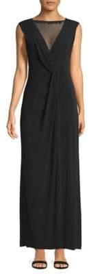 Ellen Tracy Sleeveless Maxi Dress