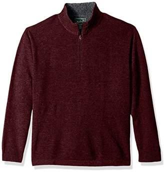 Woolrich Men's Rocky Oaks Lambswool Half Zip Sweater