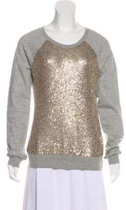 Elizabeth and James Sequin-Accented Sweater