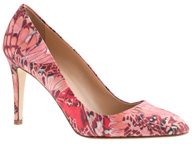 Sloane Collection printed pumps