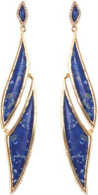 Lapis Maiyet & Diamond Amazon Journey Earrings