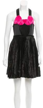 Lanvin Pleated Mini Dress w/ Tags