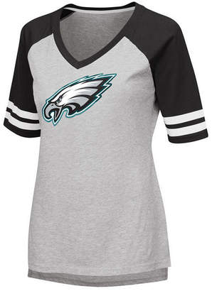 G-iii Sports Women's Philadelphia Eagles Foil Primary Logo T-Shirt