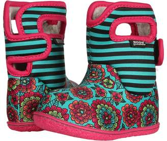 Bogs Kids Baby Pansy Stripe Girls Shoes