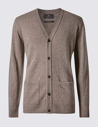 Marks and Spencer Pure Lambswool Cardigan