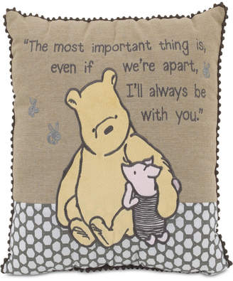 """Disney A Day With Pooh"""" Decorative Pillow Bedding"""