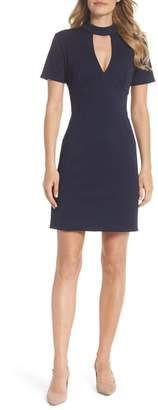 Trina Turk trina Camari Keyhole Sheath Dress