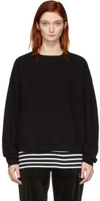 Alexander Wang Black Wool Pullover