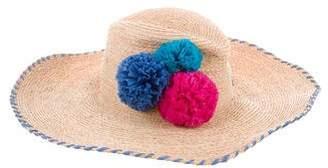 Tropez Lola Hats St. Straw Hat w/ Tags