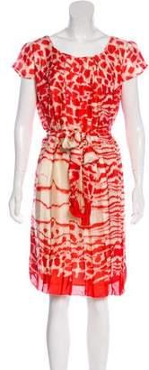 LK Bennett Silk Printed Dress