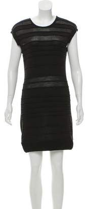 Hakaan Wool-Blend Ribbed Dress