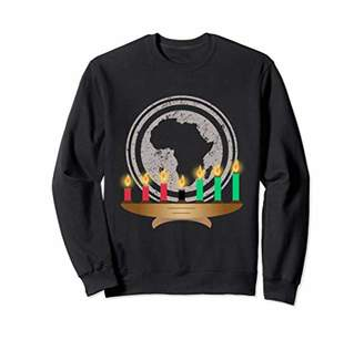 Kwanzaa Africa Kinara Heritage Melanin Family Sweatshirt