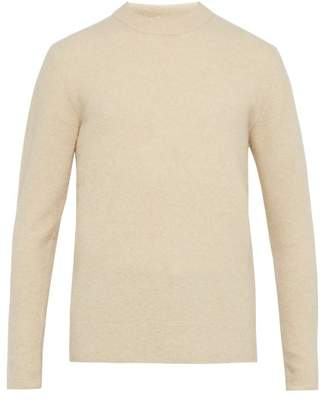 Privee Salle Salle Aren Cashmere Blend Sweater - Mens - Cream