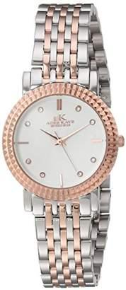 Adee Kaye Womens Analog Japanese-Quartz Watch with Stainless-Steel Strap AK4801-LTTRG