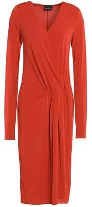 By Malene Birger Gathered Crepe Dress