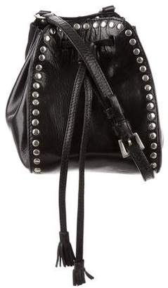 Prada Studded Leather Crossbody Bag