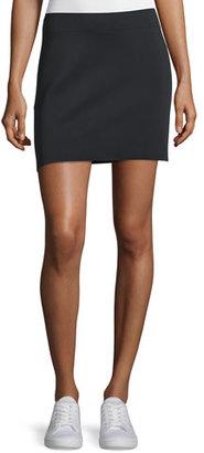 Helmut Lang Scuba Mini Skirt, Black $320 thestylecure.com