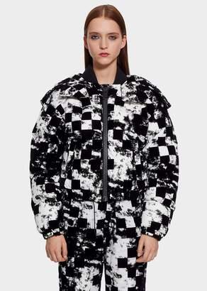 Versace Checkerdaze Puffer Jacket