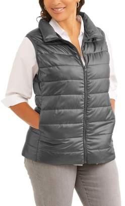 Active Women's Plus Puffer Vest