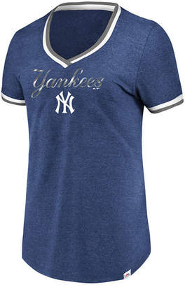 Majestic Women's New York Yankees Driven by Results T-Shirt