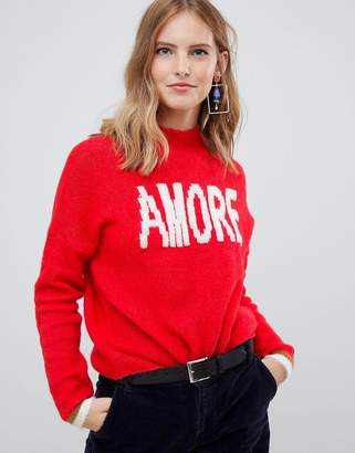 Only amore knitted sweater