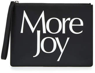 Christopher Kane More Joy Leather Clutch