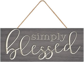 Crystal Art Gallery Simply Blessed Wall Art