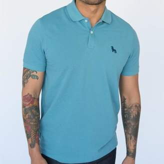 Blade + Blue Turkish Blue Cotton Pique Polo