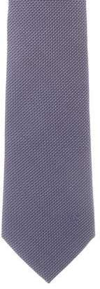 Louis Vuitton Abstract Print Silk Tie