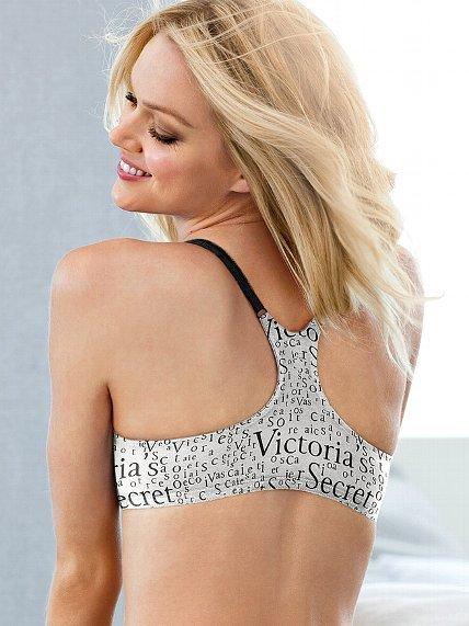 Victoria's Secret Cotton Lingerie Racerback Bra