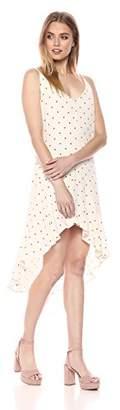 BB Dakota Women's Andie Polkadot Shift Dress