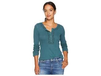 Lucky Brand Novelty Henley Shirt
