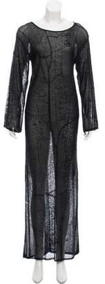 Krizia Maxi Knit Dress