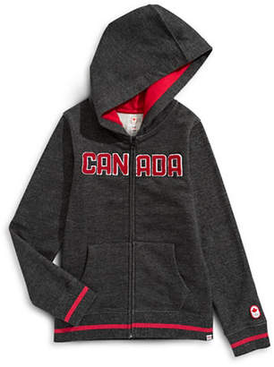 CANADIAN OLYMPIC TEAM COLLECTION Boys Marled Fleece Hoodie