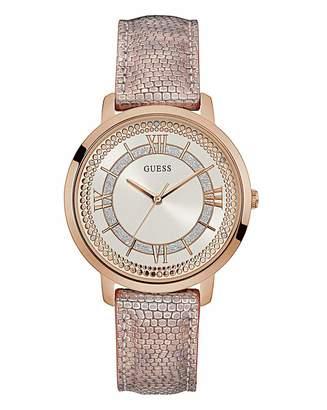 GUESS Ladies Montauk Pink Watch