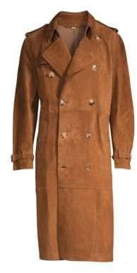 Burberry Heritage Refresh Suede Jacket