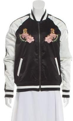 Vans Satin Varsity Jacket