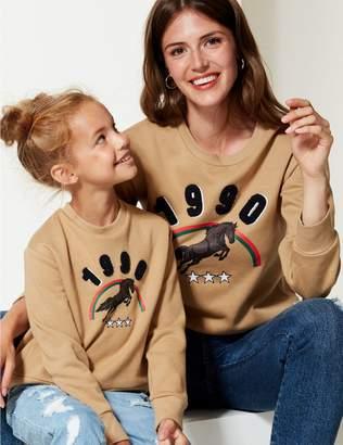 Marks and Spencer Mini Me Sweatshirt (3-16 Years)