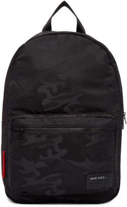 Diesel Black Camo F Discover Backpack