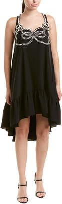 Fendi Pearl Beaded Shift Dress