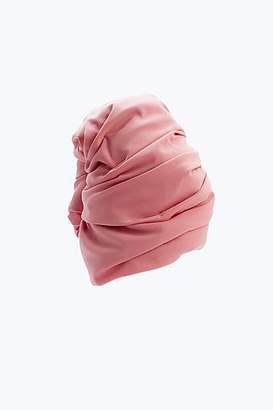 COLLECTION (RUNWAY) Solid Pink Turban