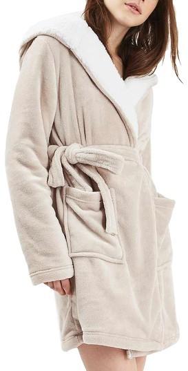 TopshopWomen's Topshop Pug Hood Robe