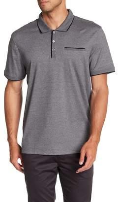 Calvin Klein Short Sleeve Solid Interlock Polo