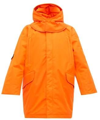 Raf Simons X Templa - Oversized Padded Longline Ski Jacket - Mens - Orange