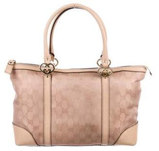 Gucci GG Twins Tote Pink GG Twins Tote