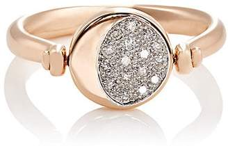 Pamela Love Fine Jewelry Women's Reversible Moon Phase Ring - Rose Gold