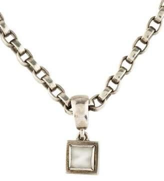 Kieselstein-Cord Moonstone Pendant Necklace