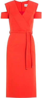 Preen by Thornton Bregazzi Dress with Cut-Out Shoulders